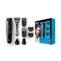 Braun All In One 8u1 Punjivi trimer sa brijačem MGK5060 BLK/GREY + RZR WBOX