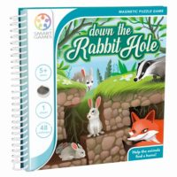 Smart Games Magnetic Travel -  Down The Rabbit Hole