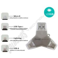 MULTI USB i DRAGON 4 u 1 U016A3 128GB