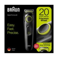 Braun trimer BT3221 BLK/VTGRN BOX