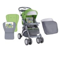 Lorelli Kolica Apollo Green & Grey Car+torba za mame