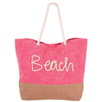 Pulse torba za plažu ipanema light pink