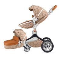Kolica HOT MOM Light Brown 2u1