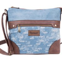 Pulse torba na rame jeans worn out