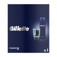 Gilette XMAS 20 Fusion ultra sens gel 200ml & AS Sensitive gel 75ml