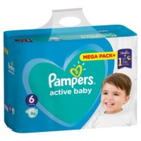 PAMPERS PELENE AB MB 6 LARGE (96)