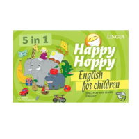 Happy Hoppy English for children - 5 in 1 (Sing, play and learn english)